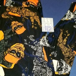 Lularoe TC2 Halloween leggings NWT